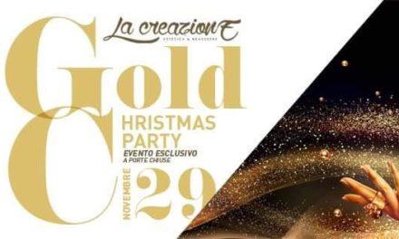 È arrivato il momento del Gold Christmas Party: venerdì 29 novembre