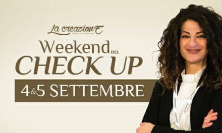 4 – 5 settembre: Weekend del check-up per ritrovare la tua silhouette