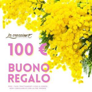 buono Festa della Donna € 100 - La Creazione