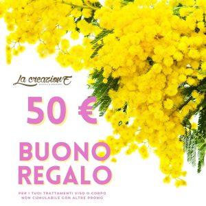 buono Festa della Donna € 50 - La Creazione